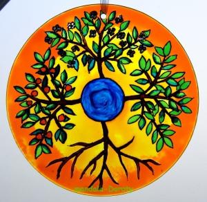 mandala-cztery-drzewa