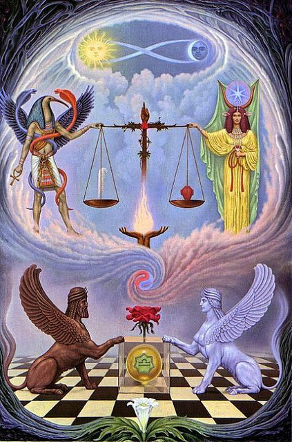Images of the Zodiac: Contemplating Libra   symbolreader