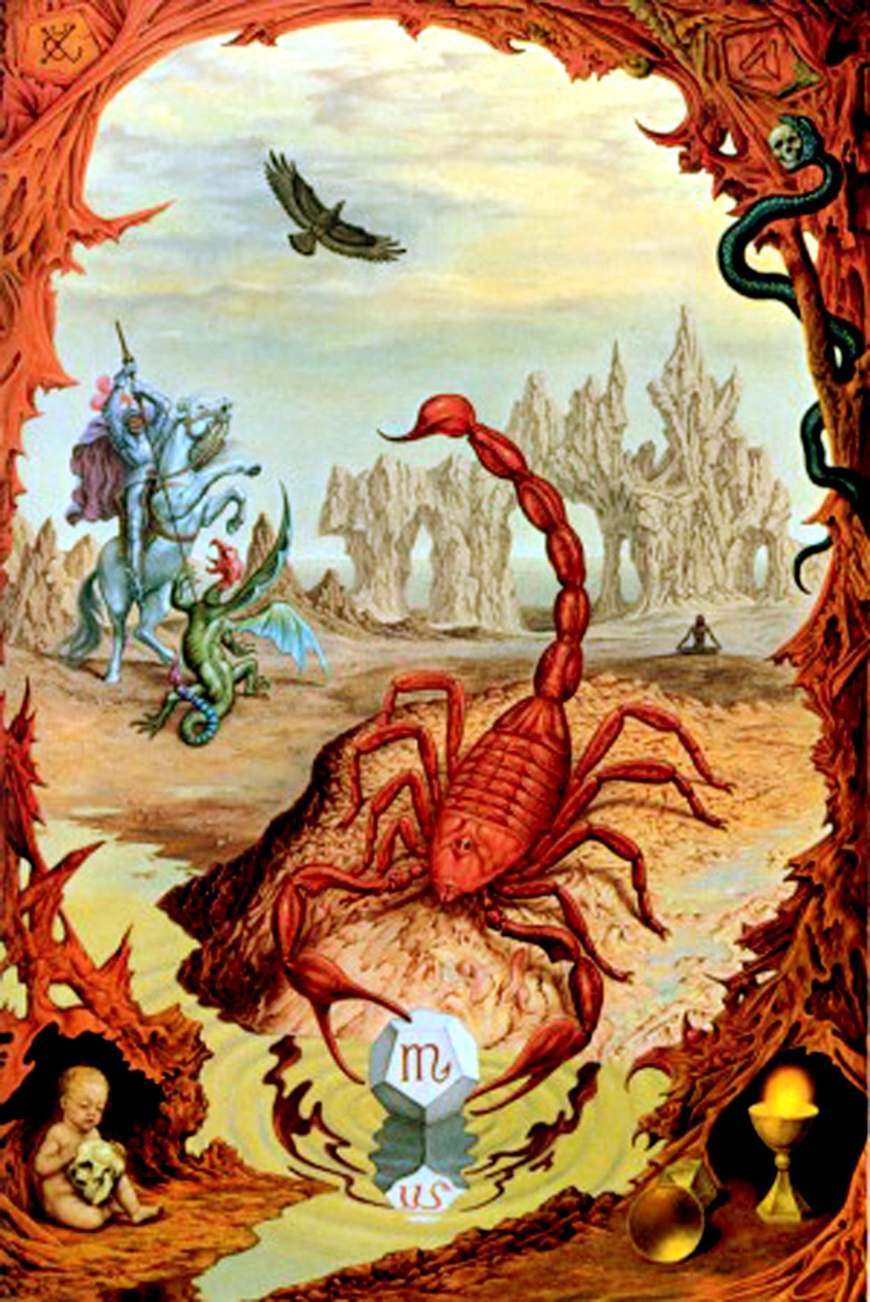 Images of the zodiac contemplating scorpio symbolreader for Signo del zodiaco