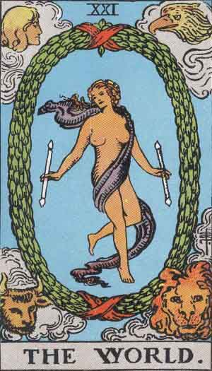 RWS_Tarot_21_World