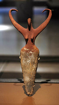 """Bird Lady,"" a Neolithic ceramic"
