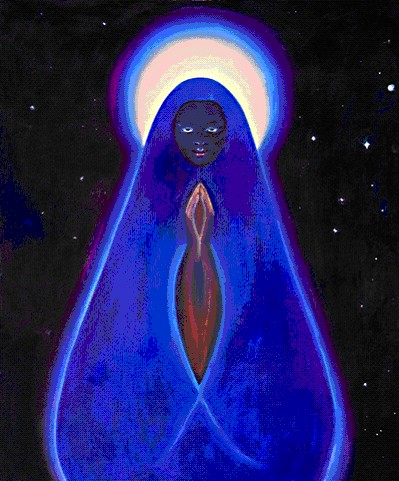 The Black Madonna by Sarah Uma