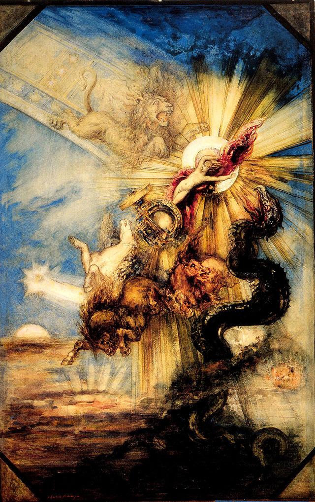"""Gustave Moreau, """"Phaethon"""""""