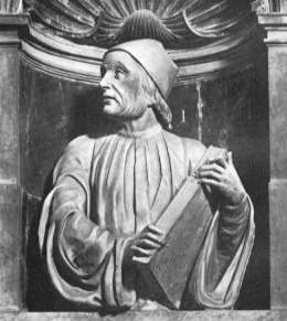 Portrait of Marsilio Ficino at the Duomo, Florence