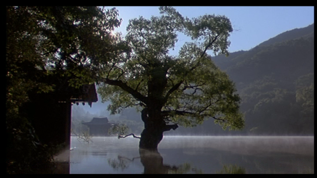 "Frame capture from a movie ""Spring, Summer, Fall, Winter, ... and Spring"""