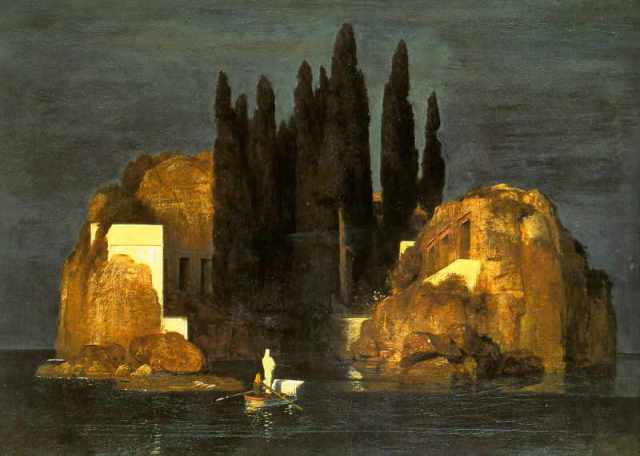 "Arnold Böcklin, ""Isle of the Dead"""