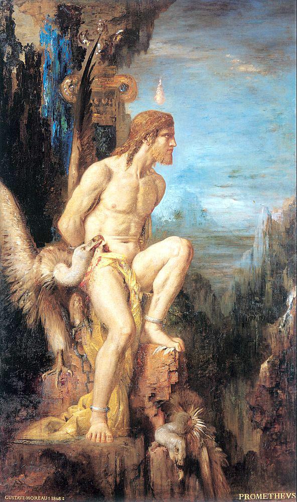 """Gustave Moreau, """"Prometheus"""""""