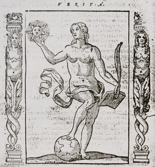 the allegory of Truth in Cesare Ripa's Iconologia (1593)