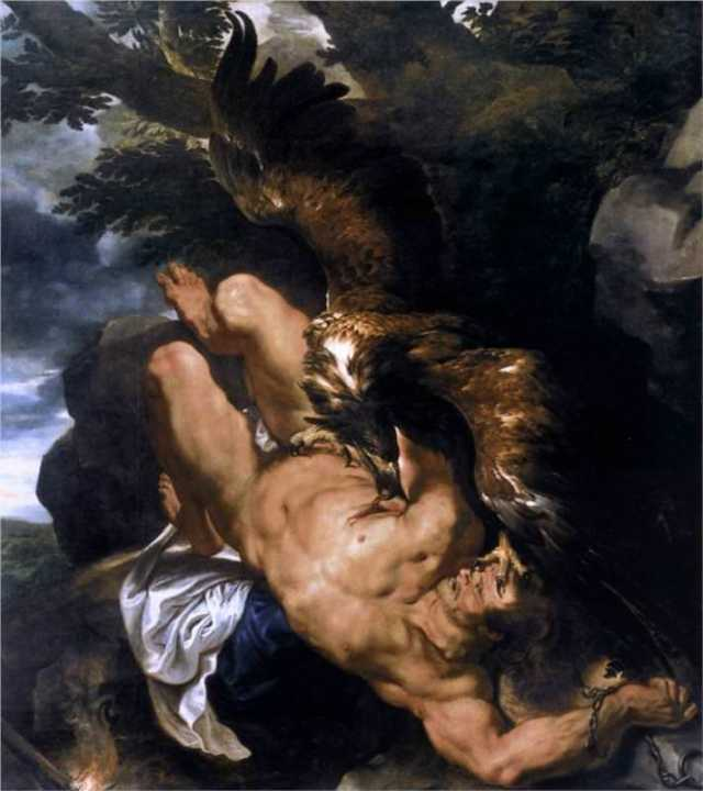 "Peter Paul Rubens, ""Prometheus Bound"""