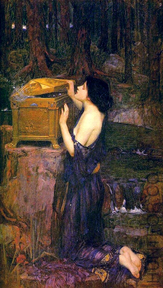 "John William Waterhouse, ""Pandora"""