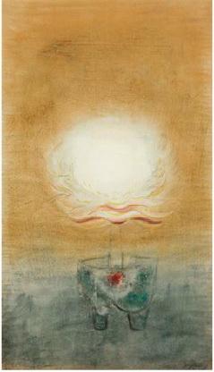 "Morris Graves, ""Lotus"""