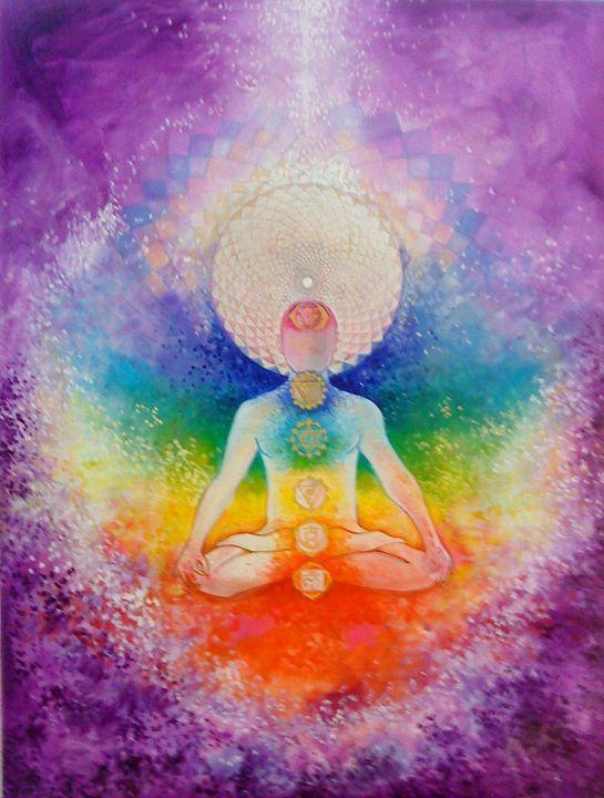 "Ines Honfi, ""Yogi"" via http://www.ineshonfi.com/yoga-gallery"