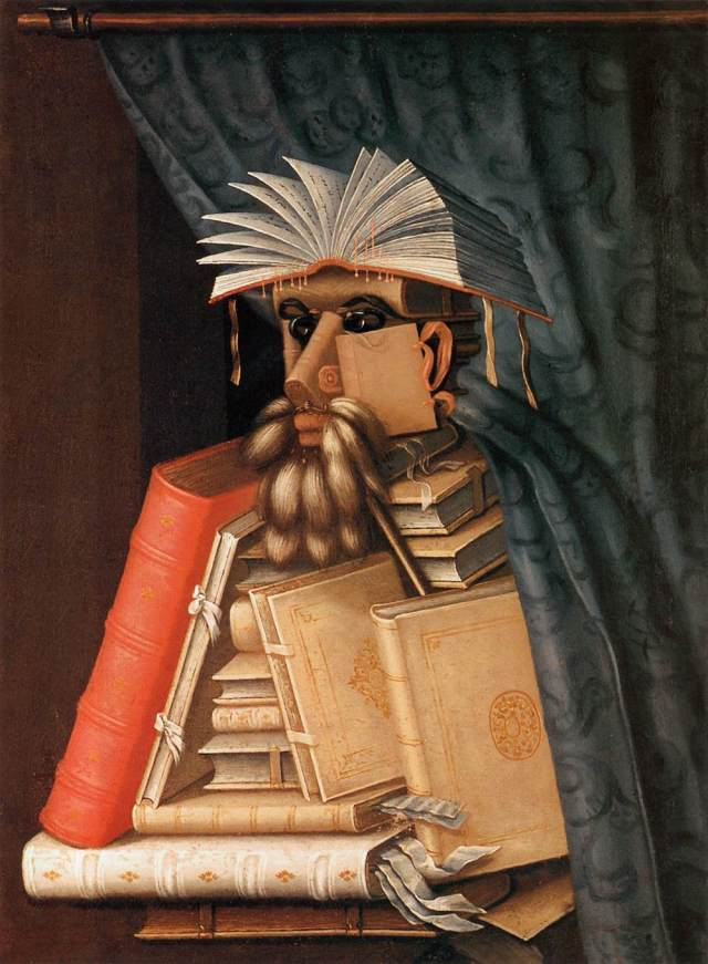"Giuseppe Arcimboldo, ""The Librarian"""