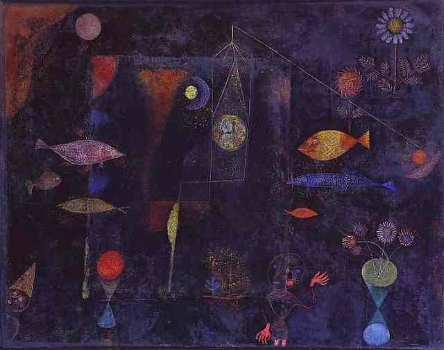"Paul Klee, ""Fish Magic"""