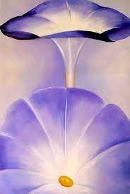 """Georgia O'Keeffe, """"Lavender Irises"""""""