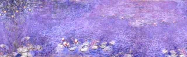 "Claude Monet, ""Water Lillies"""
