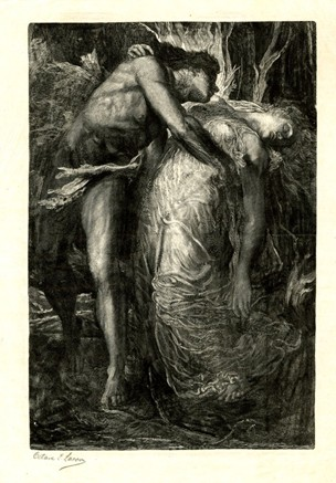 "Octave Lacour, ""Orpheus and Eurydice"" via http://www.britishmuseum.org/research/collection_online/collection_object_details.aspx?objectId=3402467&partId=1&people=103503&peoA=103503-2-23&page=1"
