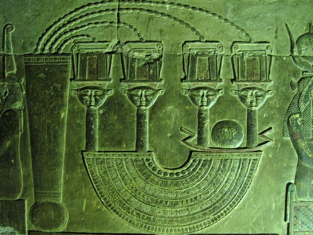 A menat from the Temple of Dendera