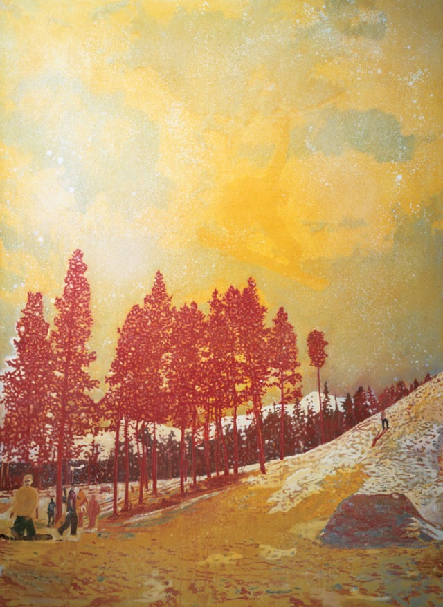 "Peter Doig, ""Orange Sunshine"""