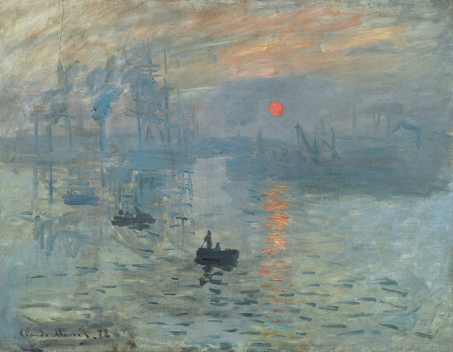 "Claude Monet, ""Impression Sunrise"""