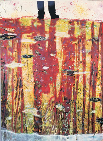 "Peter Doig, ""Reflection"""