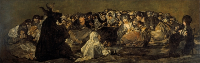 "Francisco Goya, ""The Witches' Sabbath"""