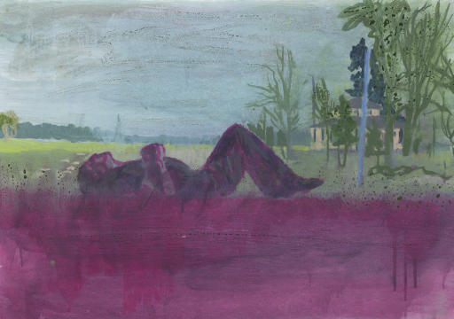 "Peter Doig, ""Grasshopper"""