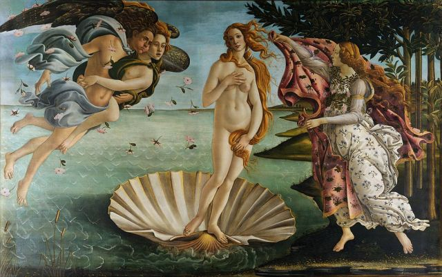 "Sandro Botticelli, ""The Birth of Venus"""