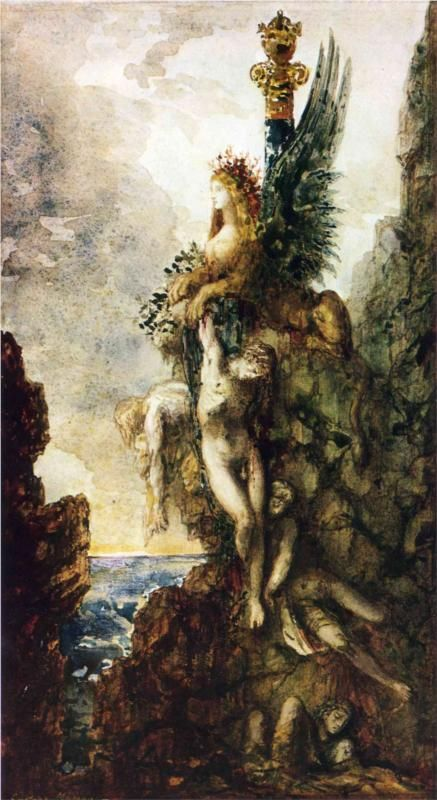 "Gustave Moreau, ""The Victorious Sphinx"""