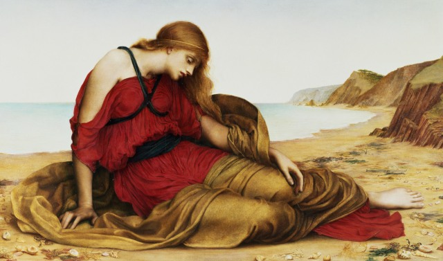 "Evelyn de Morgan, ""Ariadne on Naxos"""