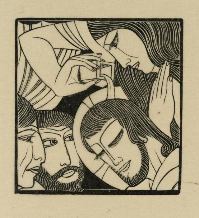 Mary Magdalen 1926 by Eric Gill 1882-1940