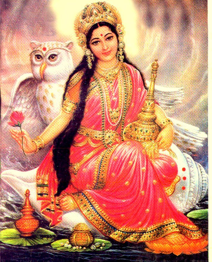 Lakshmi The Goddess Of Worldly Enjoyment And Spiritual