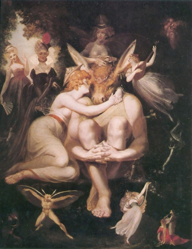 Henry Fuseli - Titania Awakes Surrounded by Attendant Faries - 1794