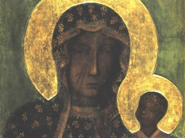 The Polish Black Madonna